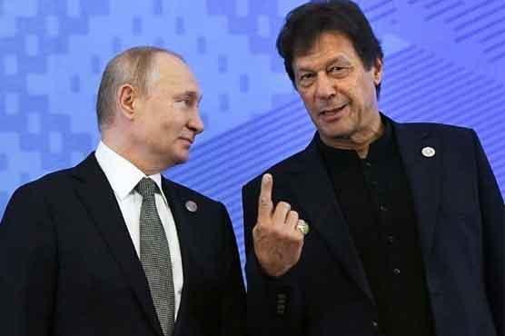PM Imran, Vladimir Putin discuss Afghanistan situation