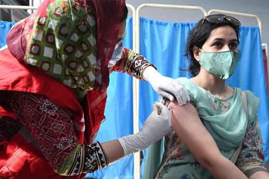 پاکستان میں 7کروڑ افراد نے کورونا ویکسین کی پہلی ڈوز لگوا لی
