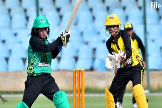 پاکستان کپ ویمنز ٹورنامنٹ میں چار ٹیمیں ٹائٹل کی جنگ کیلئے مدمقابل