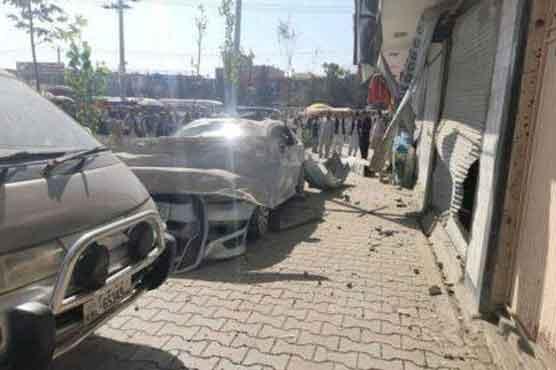 کابل اور جلال آباد میں ہونے والے دھماکوں میں 2 افراد ہلاک