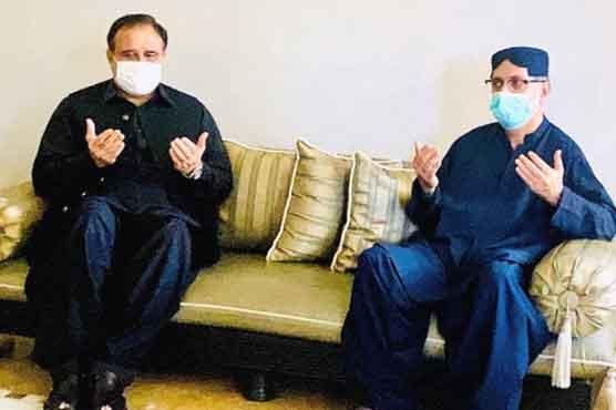 وزیراعلیٰ پنجاب کی اختر مینگل سے ملاقات، سردار عطاء اللہ مینگل کے انتقال پراظہارافسوس
