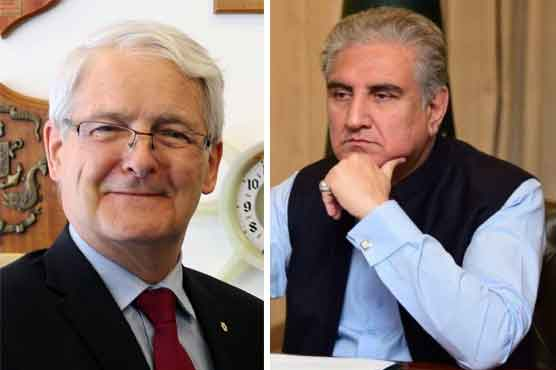 FM Qureshi, Canadian FM discuss emerging situation in Afghanistan