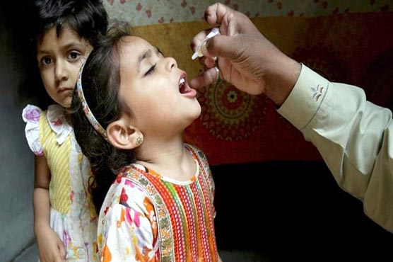 Anti-polio campaign to begin in Sindh, Balochistan from Monday