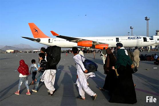 کابل ائیرپورٹ کو بین الاقوامی پروازوں کیلئے کھول دیا گیا