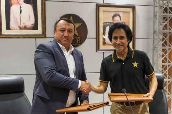 پاکستان نے ازبکستان میں کرکٹ کے فروغ کیلئے معاہدے پر دستخط کردئیے