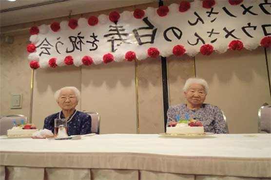 معمرترین جڑواں بہنیں اگلے ماہ 108 برس کی ہوجائیں گی