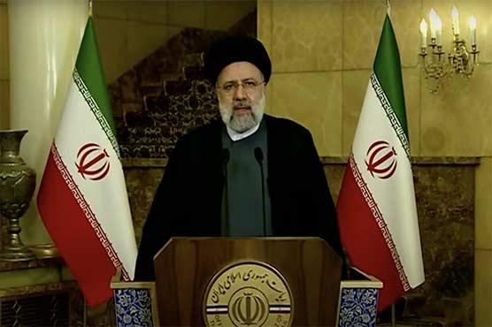 ایران ایٹمی تنازع پر پابندیاں ہٹانے کی شرط پر بات چیت کیلئے تیار ہے: رئیسی