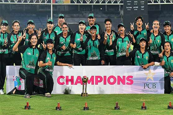 پاکستان کپ ویمنز ون ڈے کے ٹائٹل پر چیلنجرز کا قبضہ