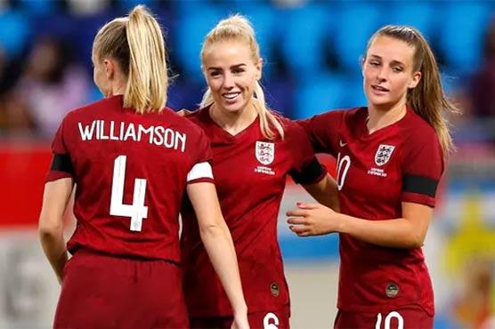 فٹبال ویمن ورلڈکپ کوالیفائنگ راؤنڈ، انگلینڈ نے لکسمبرگ کو دس صفر سے پچھاڑ دیا