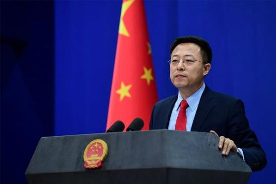China, Russia, Pakistan call on world to continue humanitarian assistance to Afghanistan: Zhao Lijian