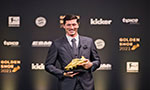Lewandowski thanks 'great support' of wife as he collects Golden Shoe
