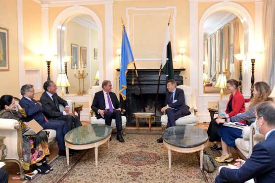 FM Qureshi stresses importance of international community's earnest engagement with Afghanistan