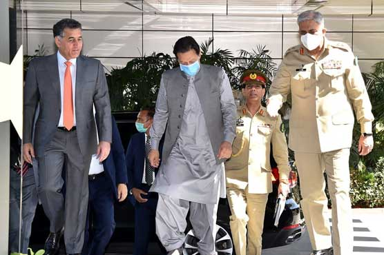 PM Imran appreciates professionalism of ISI for national security