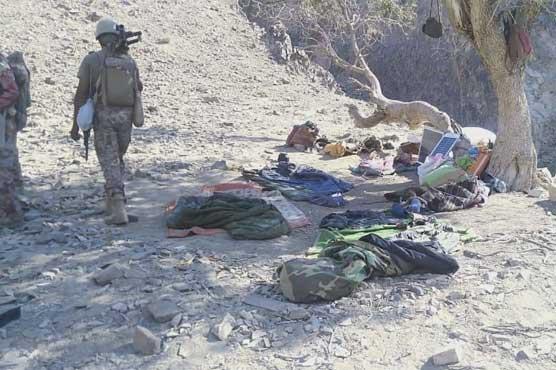 Six terrorists killed in Kharan Balochistan