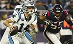 Darnold double as Panthers beat Texans to stay perfect