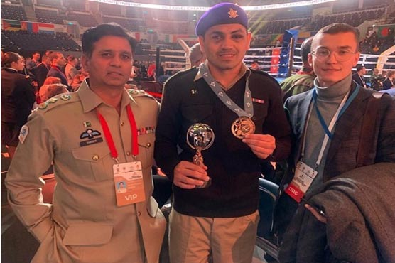 Pakistan Army wins Bronze Medal in 58th World Military Boxing Championship Moscow