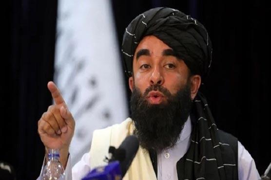 Zabiullah appreciates Pakistan for supporting Afghanistan