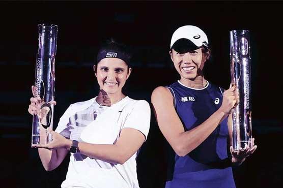 ثانیہ مرزا نے اوسٹراوا اوپن ٹینس ٹورنامنٹ کا ڈبلز ٹائٹل  جیت لیا