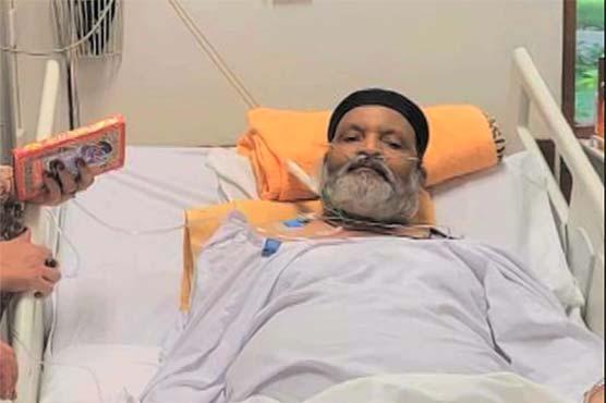 Air ambulance carrying ailing Pakistani comedian Umer Sharif leaves for US
