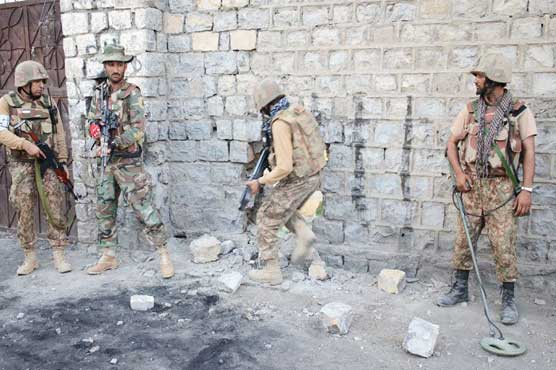 10 terrorists killed in gunfight with security forces in South Waziristan