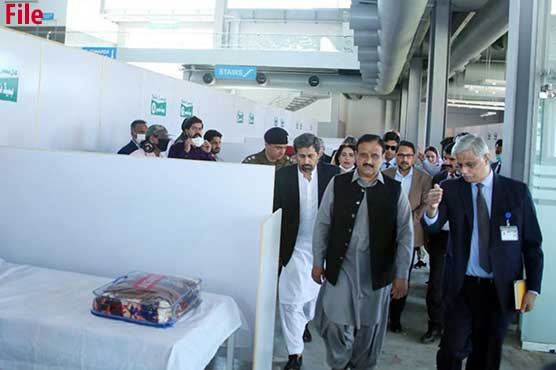 CM Buzdar pays surprise visit to Expo Center, gets briefing on Covid inoculation drive